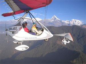 Ultralight Aircraft Flight